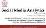 Invited Talk on Social  Media Analytics